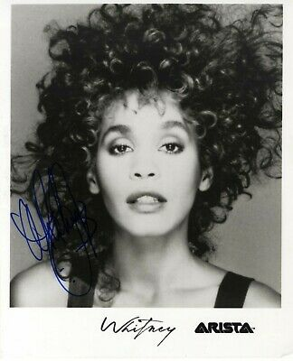 Whitney Houston Signed Photograph Repro/Reprint A4 Print  • 4.99£