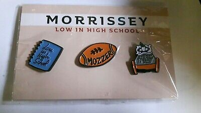 Morrissey Low In High School Tour Pin Badges  • 15£