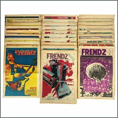 Frendz 1971/1972 Newspaper Collection (UK) • 275£