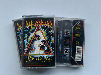 Def Leppard Hysteria Cassette Tape NEW EX SHOP STOCK • 4.99£