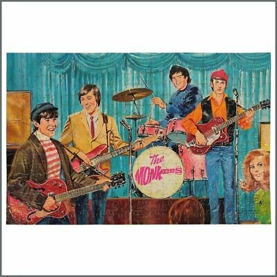 The Monkees 1967 Jigsaw Puzzle (USA) • 215£