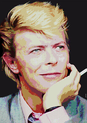 David Bowie A3 Size Art Poster Print Limited Edition • 6.99£