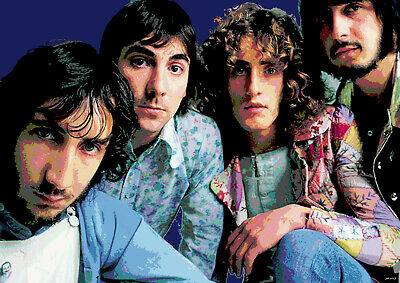 The Who A3 Size Art Poster Print Limited Edition • 6.99£