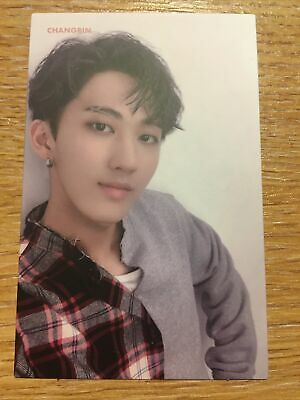 Stray Kids I Am You Changbin Pink Name Official Photocard • 13£