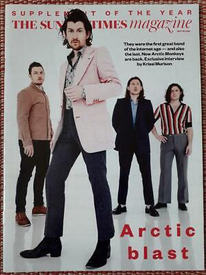 The Sunday Times Magazine Arctic Monkeys Cover & Article 20 May 2018 • 0.50£
