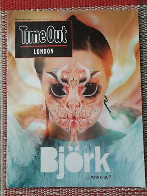 Time Out (London) Magazine Bjork Cover & Article 15-21 May 2018 • 0.50£