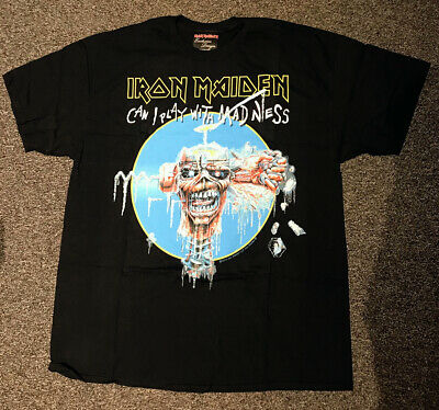 Iron Maiden - Can I Play With Madness Shirt • 25£