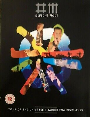 Depeche Mode..tour Of The Universe 4 Disc Dvd/cd. • 9£