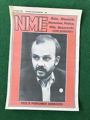 NME August 1979 JOHN PEEL Cover Print A3 Size • 4.99£
