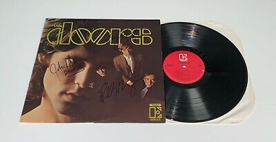 The Doors Self-titled Record Signed X3 Ray Manzarek Robby Krieger John Densmore • 329.14£