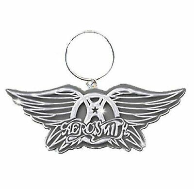 Aerosmith Keyring Keychain Wings Band Logo New Official Metal One Size • 5.50£