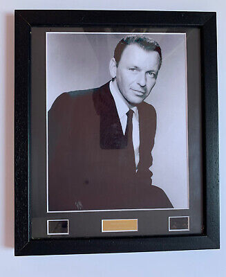 *frank Sinatra Framed None But The Brave Movie Cell With Coa - Limited Edition* • 14.99£