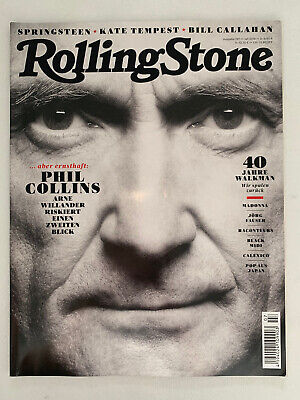 Phil Collins / Sony Walkman / Springsteen German Rolling Stone Magazine 7/2019 • 17.99£