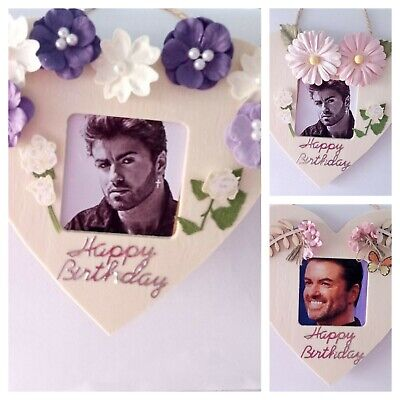 George Michael Framed Photos • 4.75£