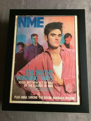 The Smiths Framed NME Magazine Cover Dec 1984   -  18  X 14  • 45£