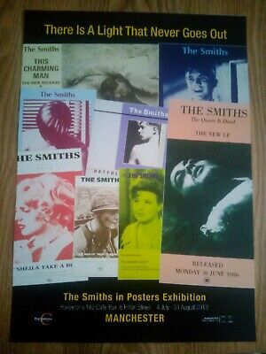 The Smiths / Morrissey Promotional Poster Montage Repro/Reprint A4 Print  • 5.99£