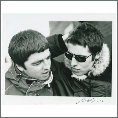 Liam & Noel Gallagher 97 D'You Know What I Mean? Michael Jones Signed Photo (UK) • 105£