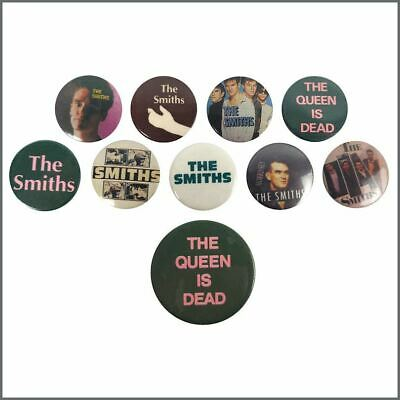The Smiths 1980s Promotional Pin Badges (UK) • 275£