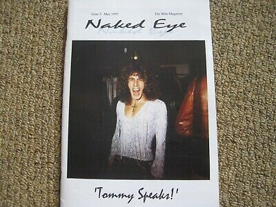 The Who - Naked Eye Fanzine Issue 5 & Photos 1997 • 1.99£