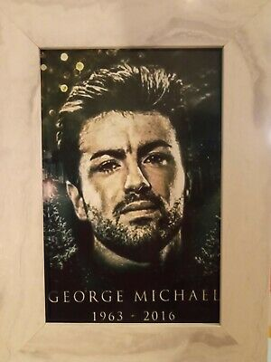 George Michael Photo, Framed • 4.99£