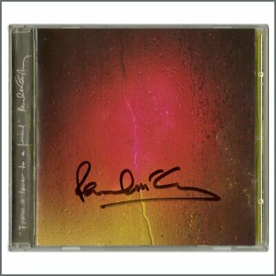 Paul McCartney 2001 Autographed From A Lover To A Friend CD Single Booklet (UK) • 765£