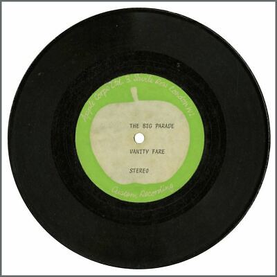"Vanity Fare 1972 The Big Parade Apple Corps 7"" Acetate (UK) • 550£"