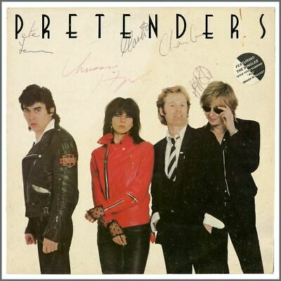 The Pretenders Autographed 1980 Self-Titled LP (UK) • 385£