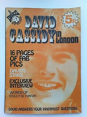 DAVID CASSIDY In London DISCO 45 Special RARE COLLECTABLE - 1972  • 95£