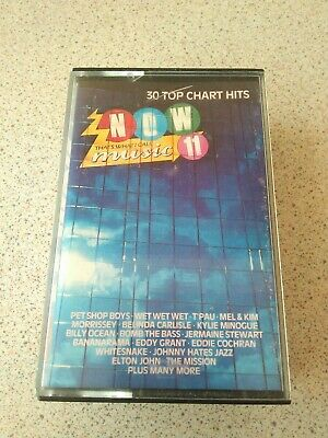 Now That's What I Call Music 11 Double Cassette Tape Album 1988 80s Now 11 • 4£