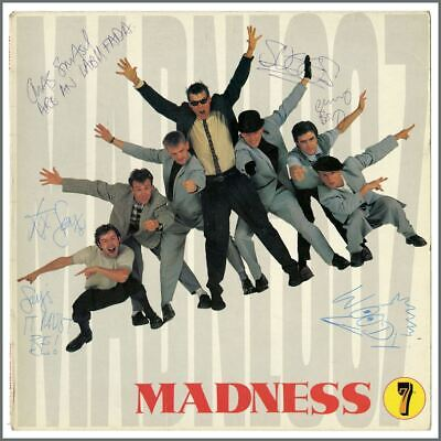 Madness Autographed 1981 7 LP Sleeve (UK) • 165£