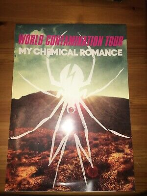My Chemical Romance Danger Days World Contamination Tour Book Programme • 50£