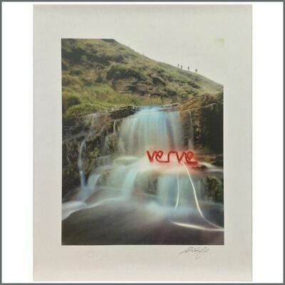 The Verve This Is Music Signed Photographers Print Michael Spencer Jones (UK) • 165£