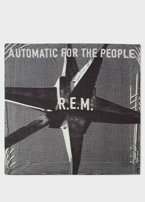 PAUL SMITH R.E.M. 'AUTOMATIC FOR THE PEOPLE' 25th ANNIVERSARY LARGE SCARF NWT • 89£