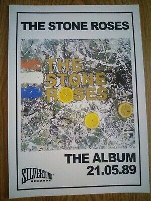 The Stone Roses 'The Stone Roses' Album Promo Poster A4 Repro / Print • 4.99£