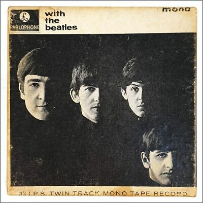 The Beatles 1963 With The Beatles Mono Reel To Reel Tape TA-PMC 1206 (UK) • 90£