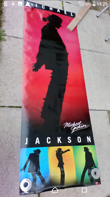 Michael Jackson Poster Long 62 Inch By 21 • 3.95£