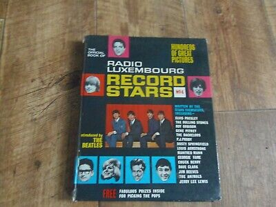 Vintage Official Book Of Radio Luxembourg Record Stars No4  1965 Collectible • 1.49£