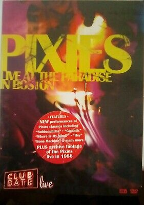 Pixies - Club Date: Live At The Paradise In Boston DVD -  • 2.90£