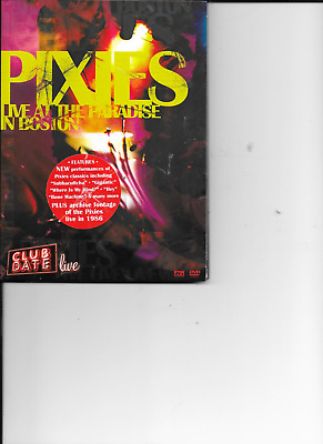 Pixies - Club Date: Live At The Paradise In Boston ( DVD -2006) • 2.49£