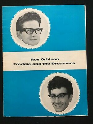 ROY ORBISON, Freddie & The Dreamers - 1964 Tour Programme (some Pages Removed) • 2.50£