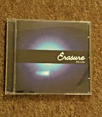 ERASURE EIS LIVE - Rare Collectable CD - Synth Pop - Andy Bell - Vince Clarke • 44.99£