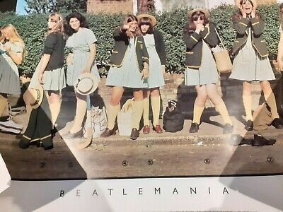The Beatles Ultra Rare UK Promo Poster!!! Only 1 To Surface For Sale!!! • 0.99£