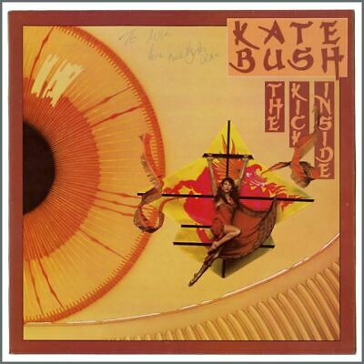 Kate Bush Autographed 1978 The Kick Inside LP (UK) • 275£
