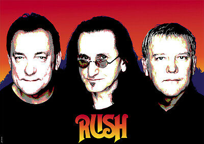 Rush A3 Size Art Poster Print Limited Edition • 6.99£